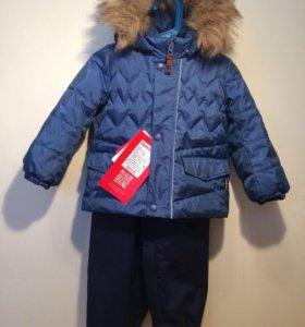 Куртка Reima + полукомбинезон Reima размер 86+6