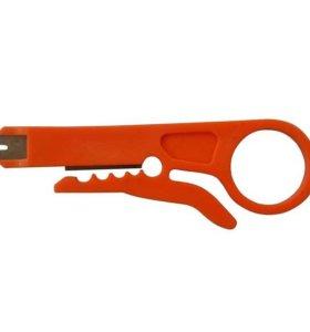 Инструмент для заделки и обрезки витой пары MINI