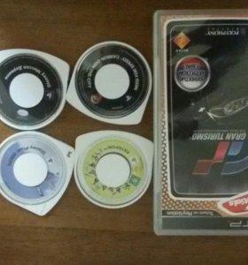 Лецензионные игровые диски на сони psp