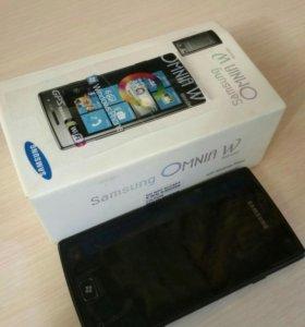 Samsung, Omnia W, Black, 8Gb, GT-I8350