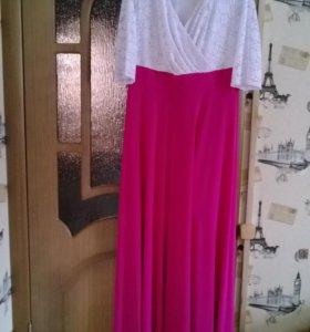 Платье праздничное большого размера
