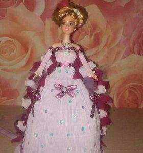 Куколка-сувенир принцесса с конфетками