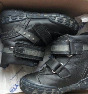 Ботинки (сапоги) демисезонные на байке