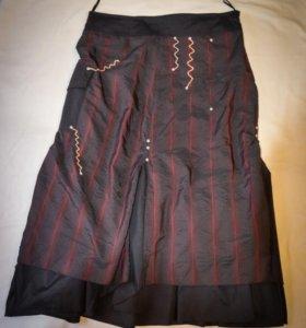 Красивая юбка с интересным дизайном
