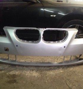 Передний бампер BMW 5 e60 Рестайл