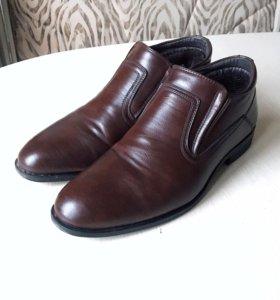 Новые мужские туфли на осень-зиму