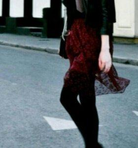 Дизайнерская юбка Whybe бордовая
