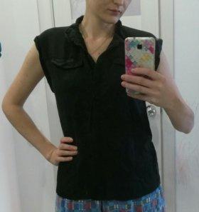 Черная блузка, рубашка