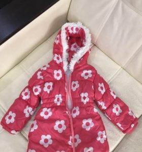 Пальто для девочки на 2-3 года
