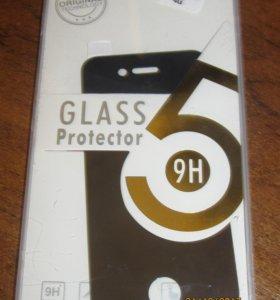"""Защитное стекло для """"iPhone"""" 4 / 4S чёрное"""