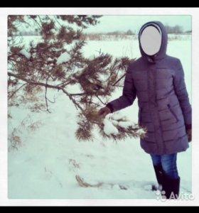 Пуховик зима-холодная весна 44-46