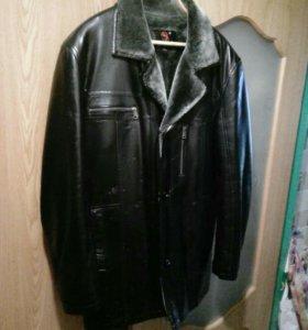 Куртка мужская, зима 54 размер.
