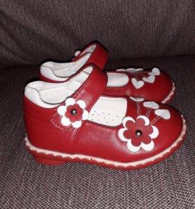 Туфельки для девочки размер 20