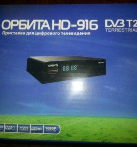 ОРБИТА HD-916 с 2018 года 20 бесплатных телеканал