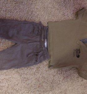 """Детские брюки и футболка-поло» JeeJay"""""""