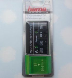 Hama mp3 kassette adapter