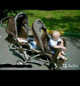 Детская коляска для погодок