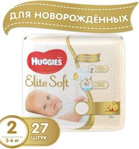 HUGGIES Elite Soft доставка бесплатно