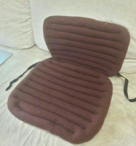 Накидка на автомобильное кресло с травами