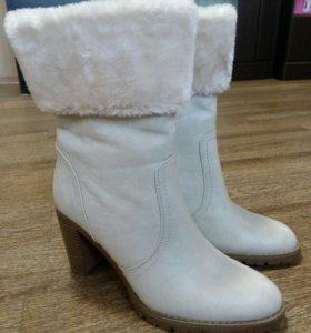 Ботинки женские зима искуст