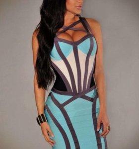 Новое бандажное платье