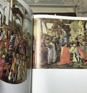 Книга работ Боттичелли