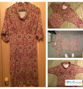 трикотажное платье44-48