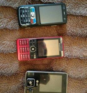 Телефоны на запчасти либо восстановление