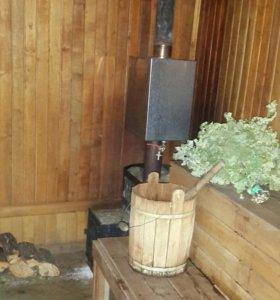 Банька на дровах!