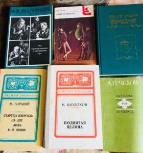 Книги «Школьная Литература »