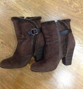 Ботинки (сапоги на небольшом меху)