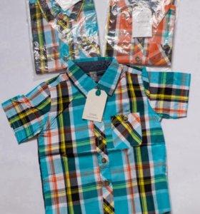 Рубашки новые разных размеров