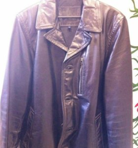 Куртка кожа бизона