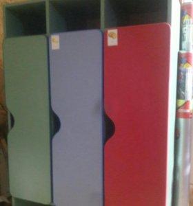 Шкафчики для д/с