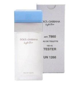 Тестер Dolce & Gabbana Light Blue for Women