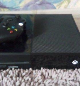Xbox one 500 gb + игры