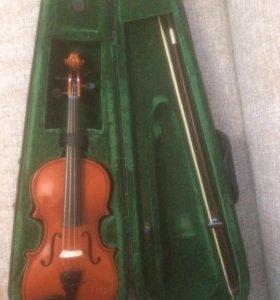 Скрипка 1/2 б/у