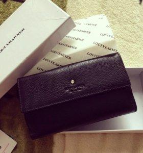 Новый кошелёк из натуральной кожи