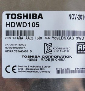 toshiba hdwd 105