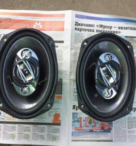 Авто колонки Pioneer (80w max400w)