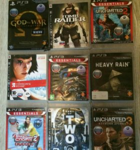 Продам PlayStation 3 superslim  500 gb+16 игр