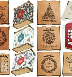 Новогодние подарочные чайные наборы CrafTea