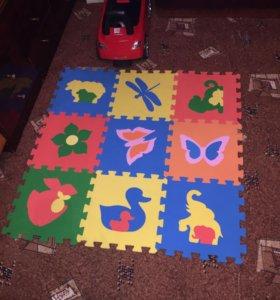 Коврик-пазлы для детей