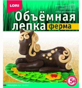 Развивающие игрушки Lori Набор для лепки от+5 лет