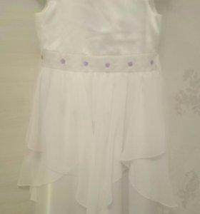 Нарядное платье как новое, б.у. 1 раз