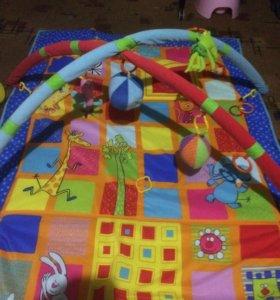 Развивающий коврик большой