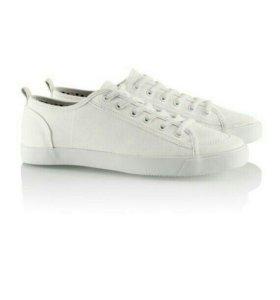 Белые кеды (H&M)