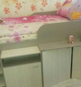 Кровать-чердак Алисия