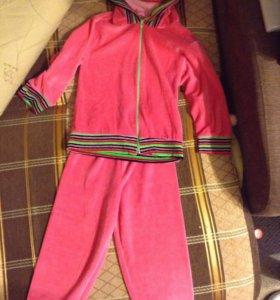 Спортивный костюм велюровый для девочек