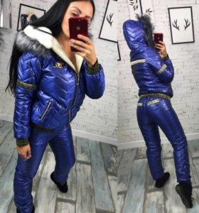 Зимний костюм женский новый С-М